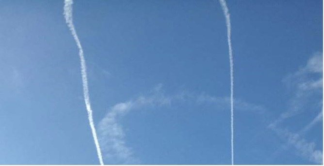 Navy apologizes after aircraft is spotted doing obscene skywriting