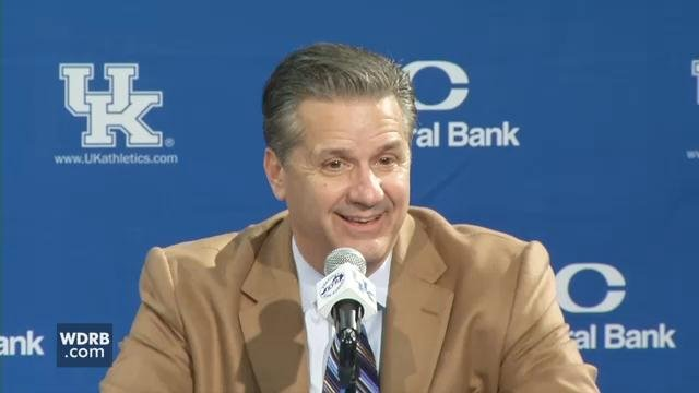 John Calipari talks about Kentucky's 86-67 win over Fort Wayne