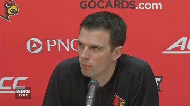Louisville interim men's basketball coach David Padgett