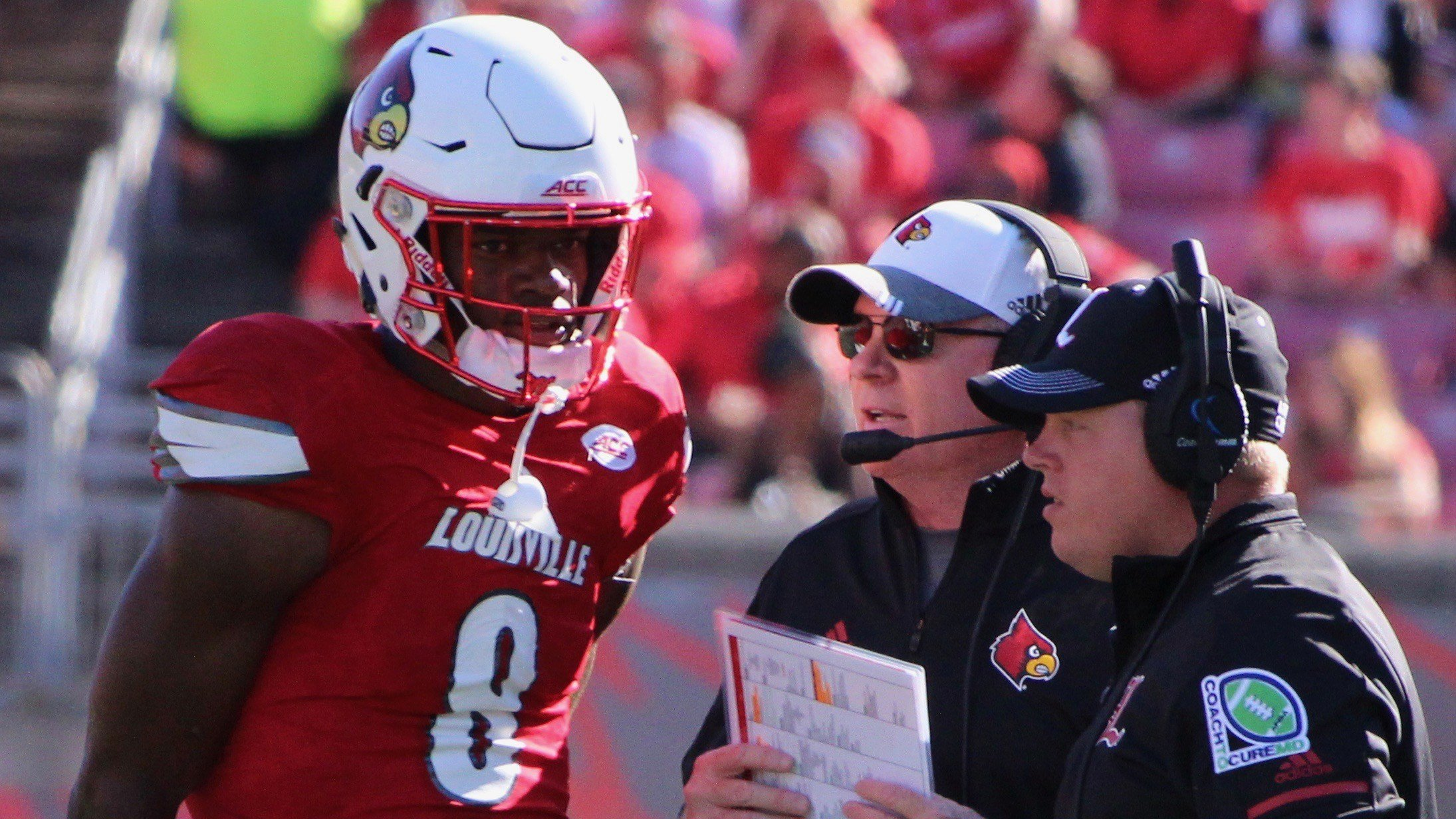 Louisville will face Mississippi State in the TaxSlayer Bowl. (WDRB photo by Eric Crawford)