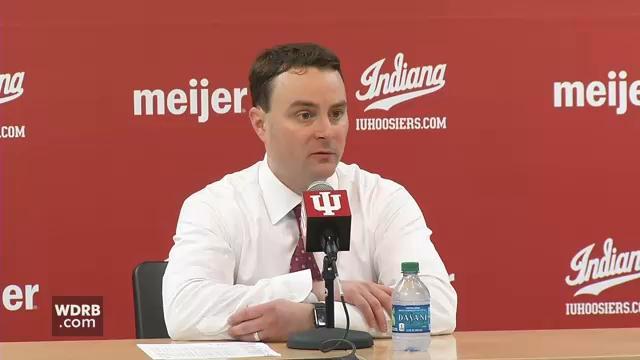 Indiana head coach Archie Miller