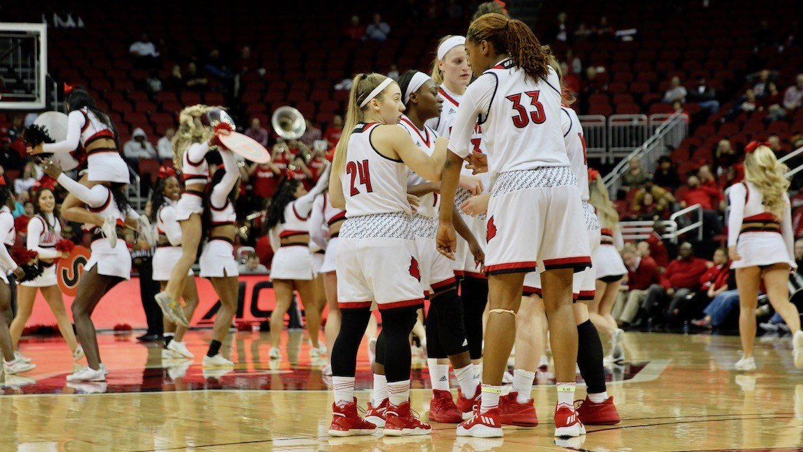 Louisville's second unit did as much damage as its first in Tuesday's 91-56 win over Tennessee Martin (WDRB photo by Eric Crawford)