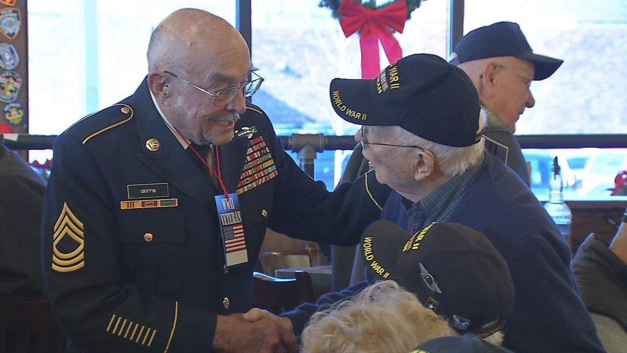 Vietnam Veterans pay respects on the 76th anniversary of Pearl Harbor