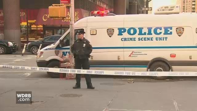 Man, 27, arrested after NY  bus station blast