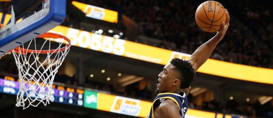 Former Louisville star Donovan Mitchell has not conceded the NBA Rookie of the Year award to Ben Simmons.