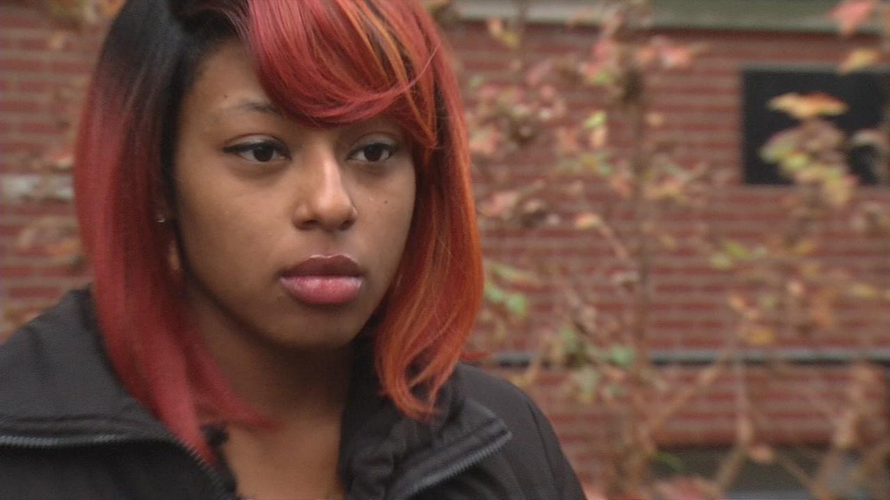 Nashae Hadder, mother of shooting victim