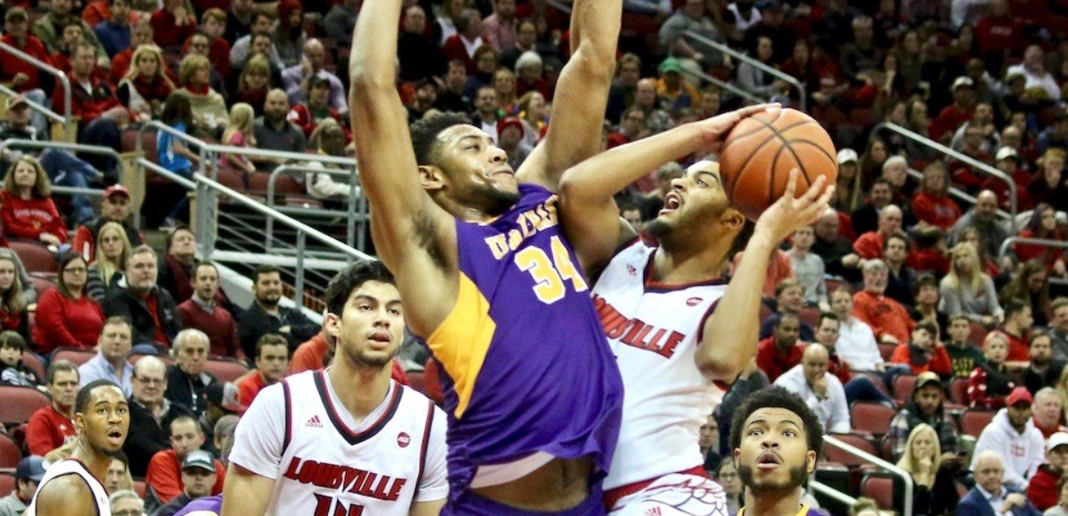 Quentin Snider led Louisville past Albany Wednesday night.  (Eric Crawford photo)