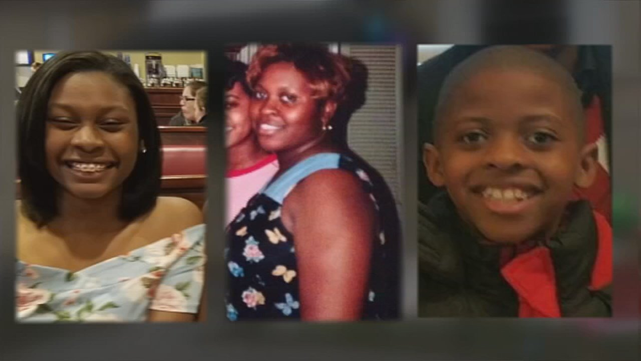 A woman and her two children were killed in the fire.