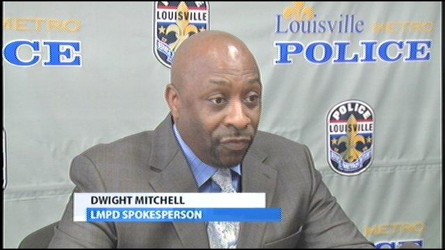 LMPD Spokesman Dwight Mitchell
