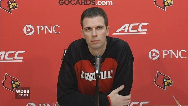 UofL Interim Men's Basketball Coach David Padgett talked about the challenges the Cards face in Friday's game against UK.