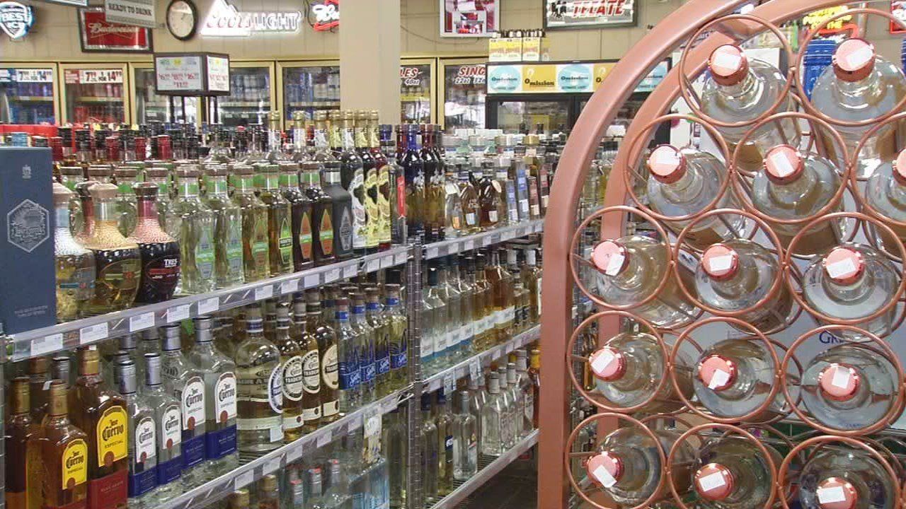 Liquor Sales Spike Ahead of New Year's Eve