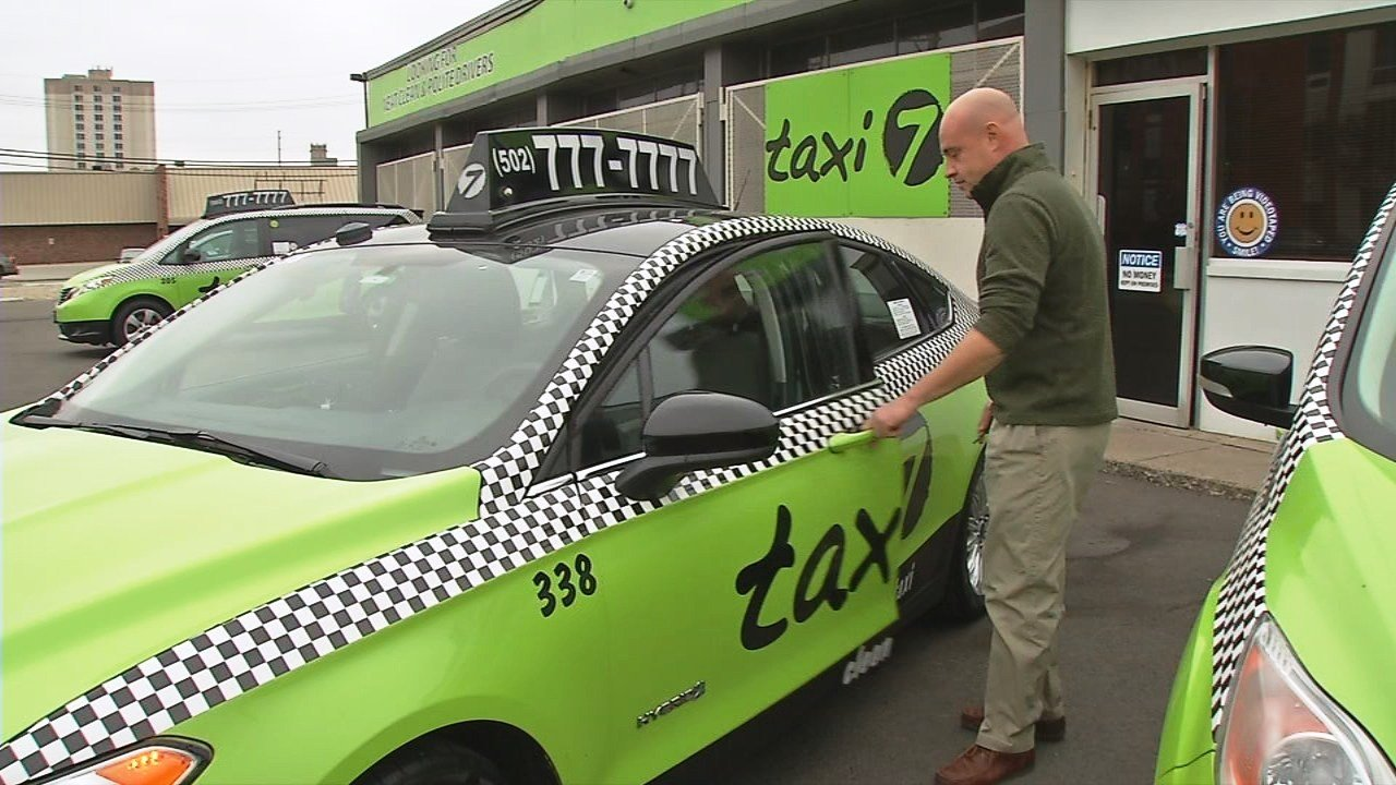 Taxi 7 started service in Louisville in 2015.