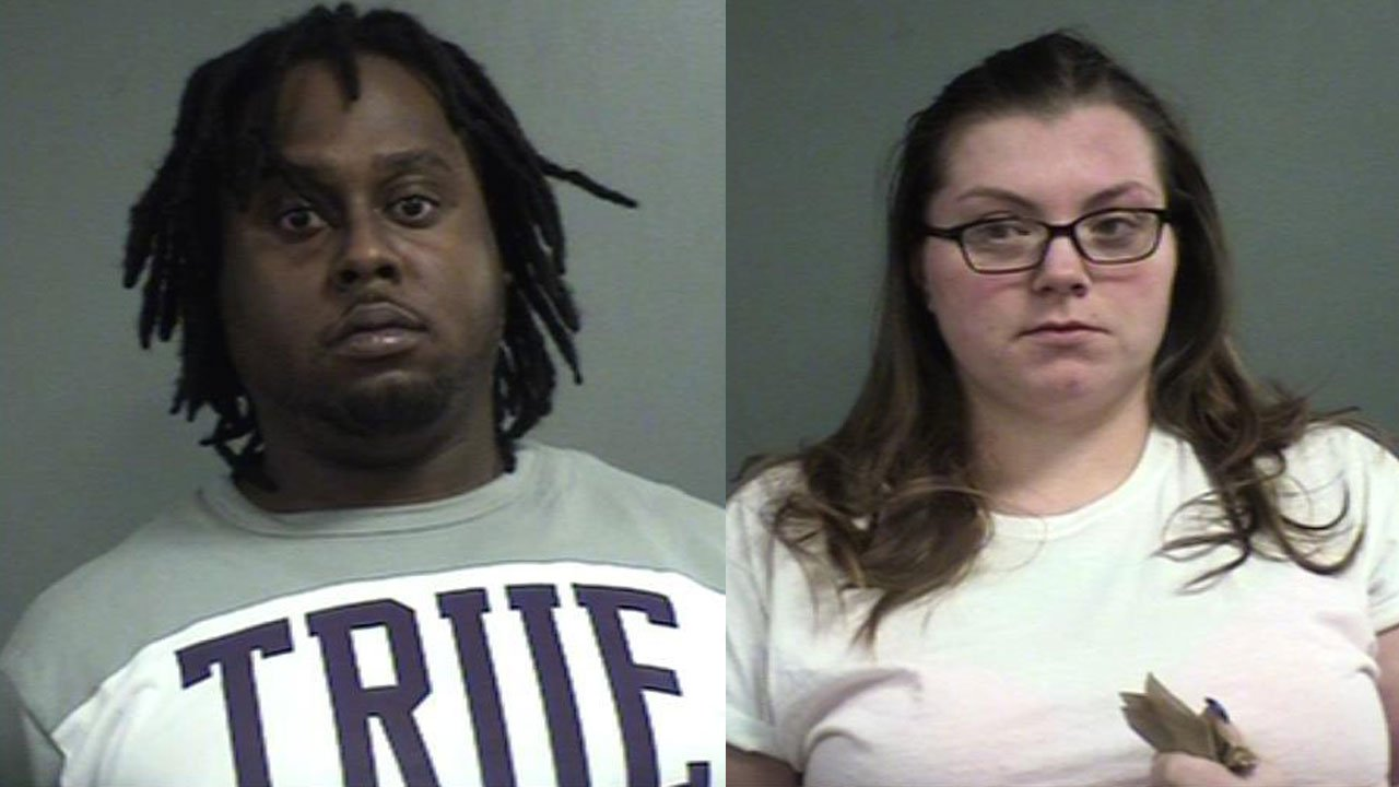 Adrian Richie and Cayla Casey (Source: Louisville Metro Corrections)