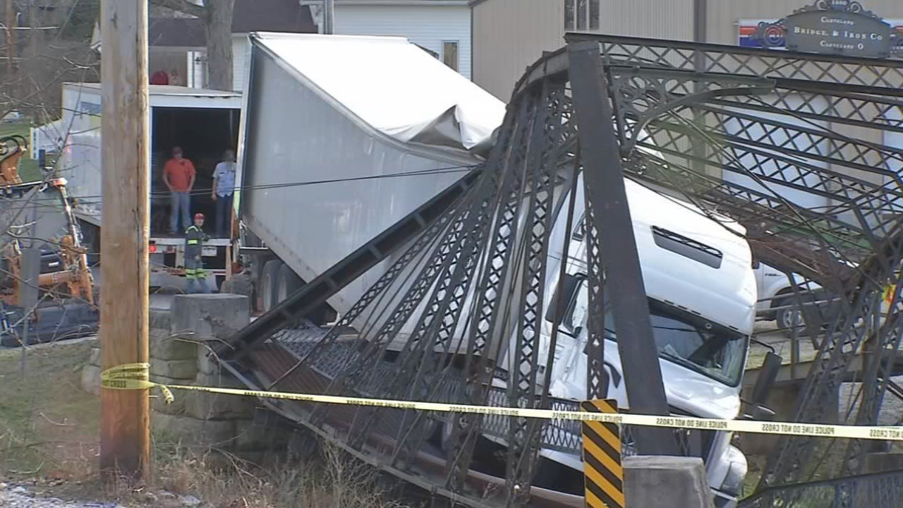The Paoli Bridge collapsed on Christmas Day, two years ago, after a semi truck got stuck while trying to cross.
