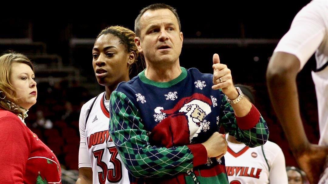 Jeff Walz photo by Eric Crawford, WDRB Sports.