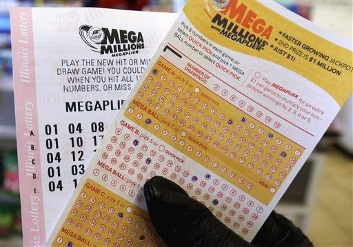 Live results for $450M Mega Millions drawing on 01/05/18