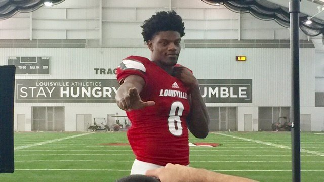 Lamar Jackson's dazzling three-year run at Louisville changed the national profile of the Cardinals' program.