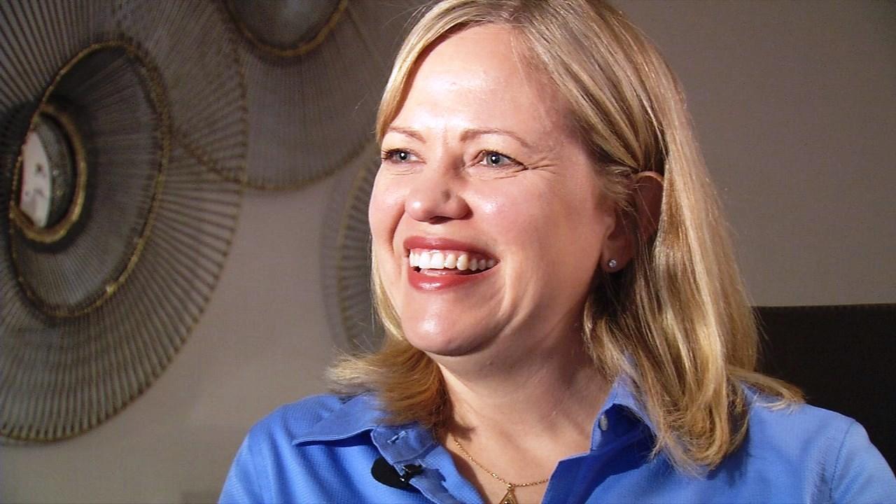 Susan Elkington, president of Toyota Motor Manufacturing Kentucky, Inc.