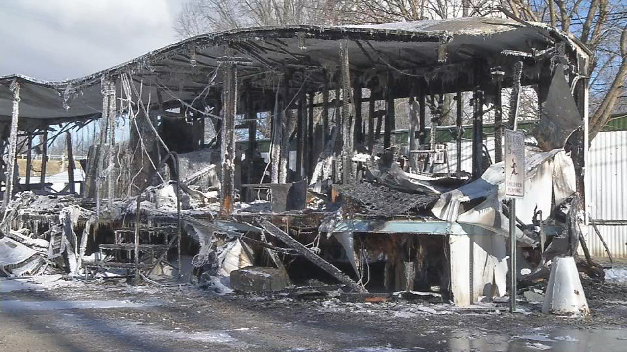 A family of four lost all of their belongings in a mobile home fire on Taylor Blvd. on Jan. 5, 2018.
