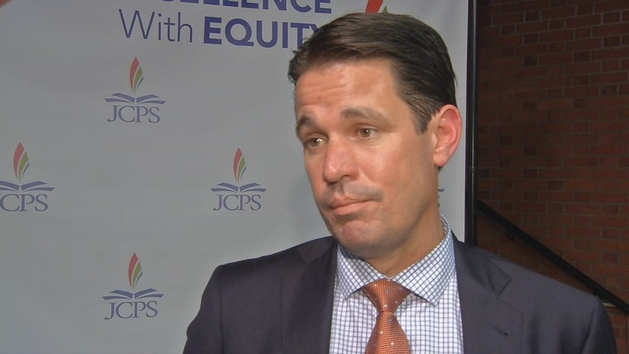JCPS Acting Superintendent Marty Pollio