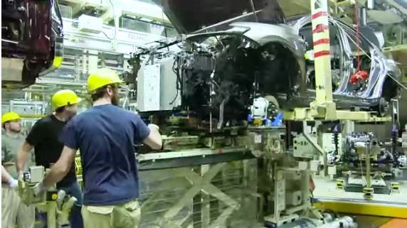 Toyota's Georgetown, Ky. plant (Toyota video)