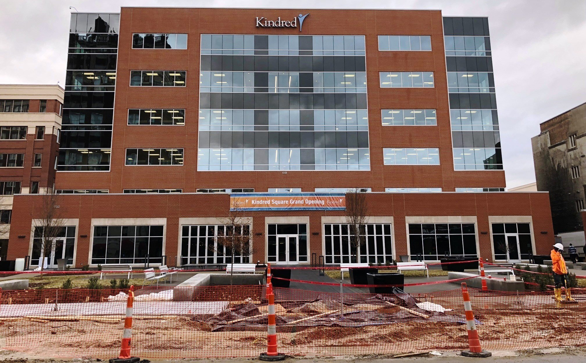 Kindred Healthcare's new corporate office building on S. 4th Street