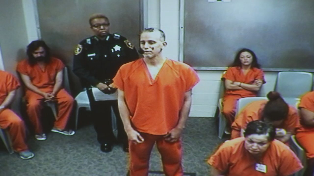 Christopher Olivo at a court appearance in Florida.