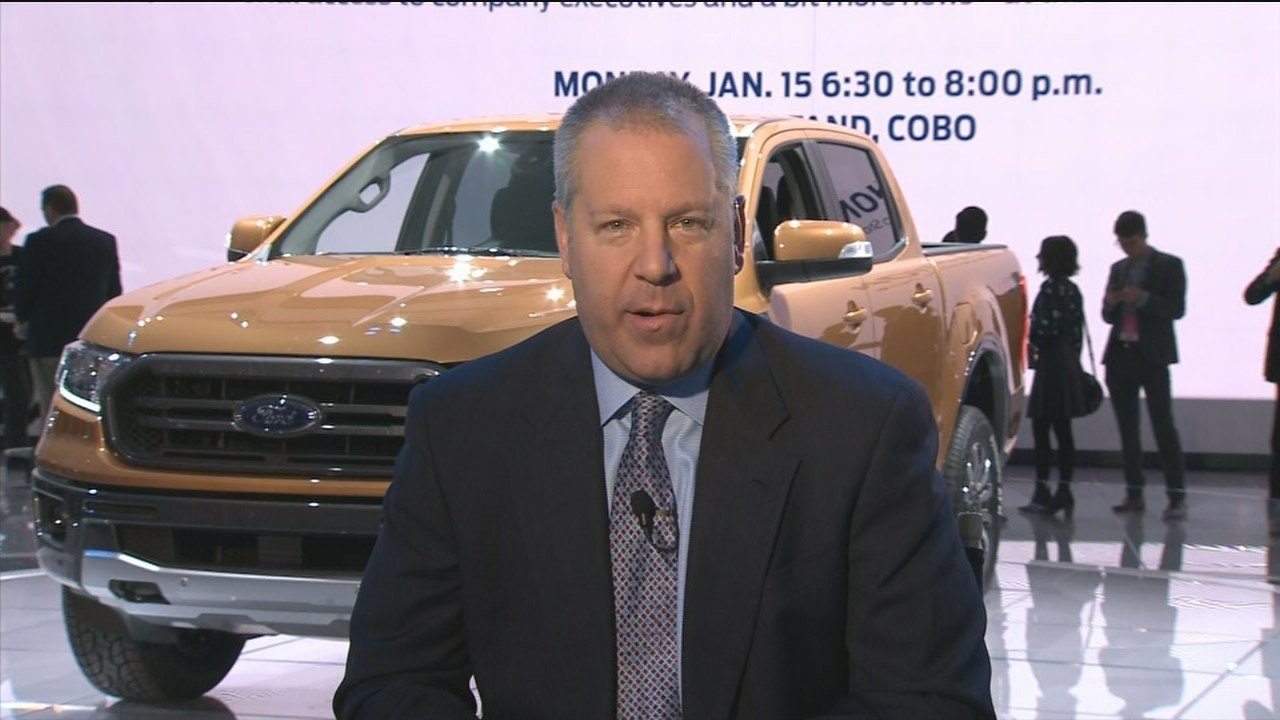 Joseph Hinrichs, President of Global Operations for Ford Motor Company