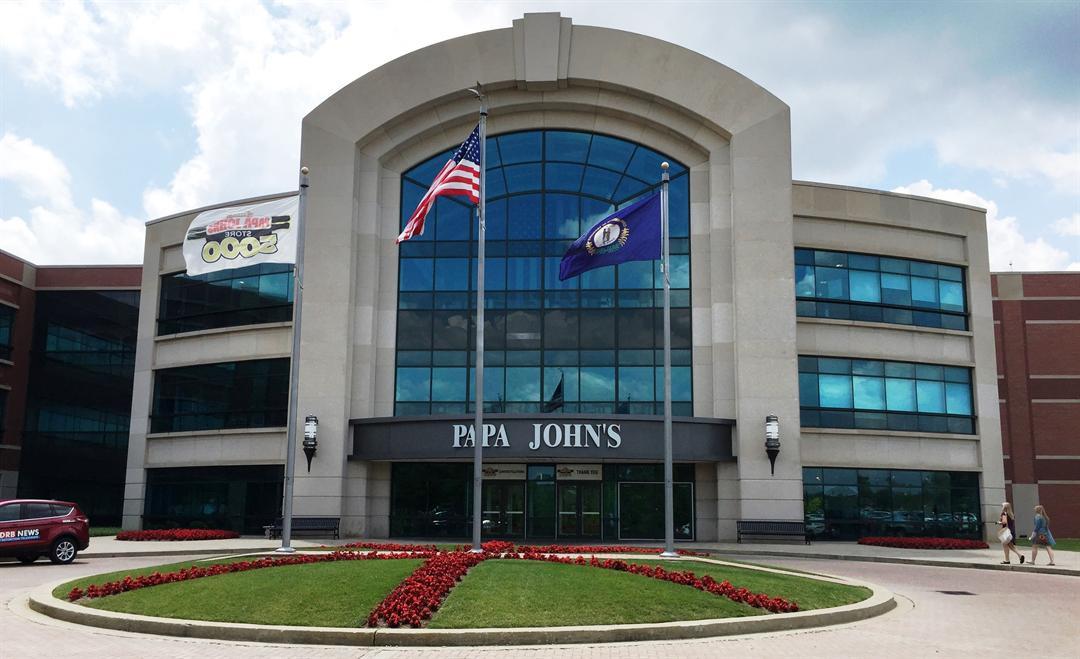 Papa John's International headquarters in Louisville, Ky.