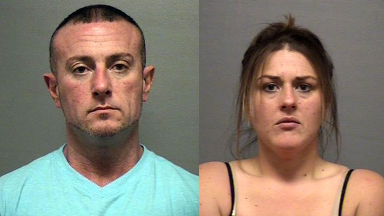 Charles Justice and Brittany Brooks (Source: Louisville Metro Corrections)