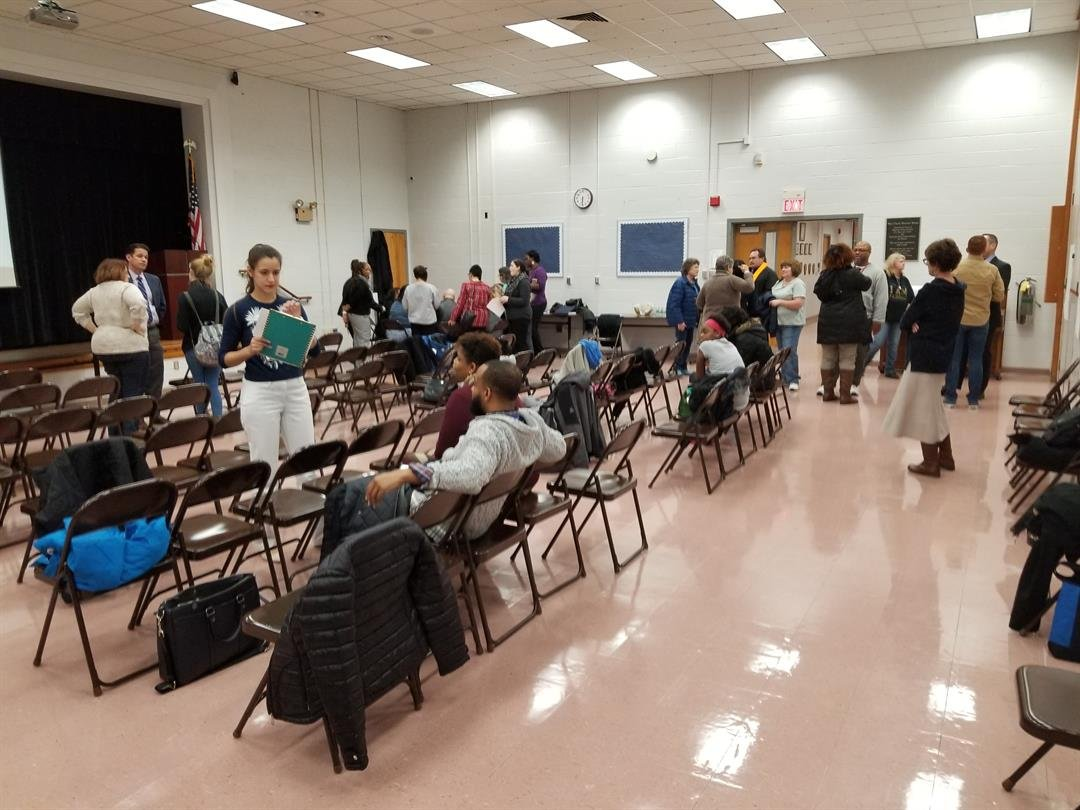 Public hearing at South Park TAPP
