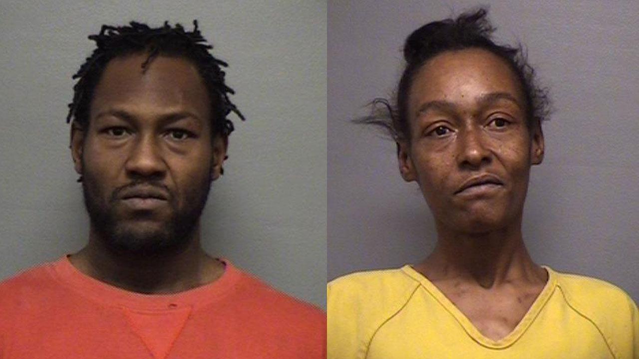 Joseph Samuel Lewis Jr. and Colleen Compton (Source: Louisville Metro Corrections)
