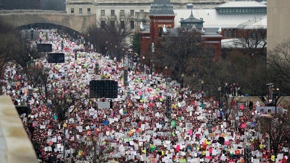 President Trump Tweets Support for Women's March