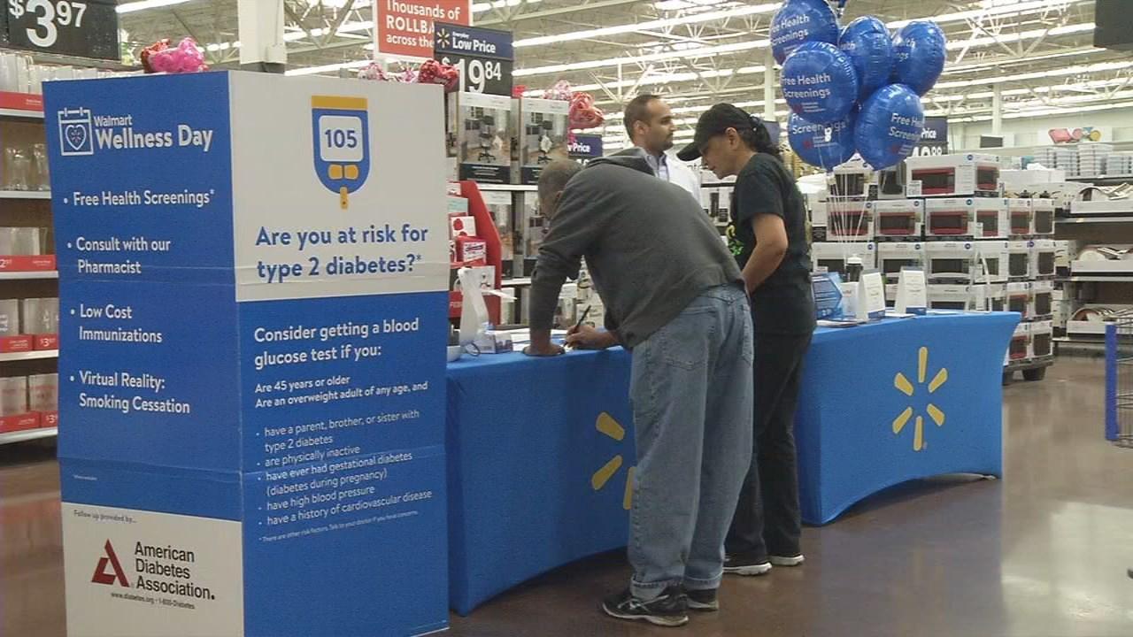 Walmart Wellness Event in Amarillo