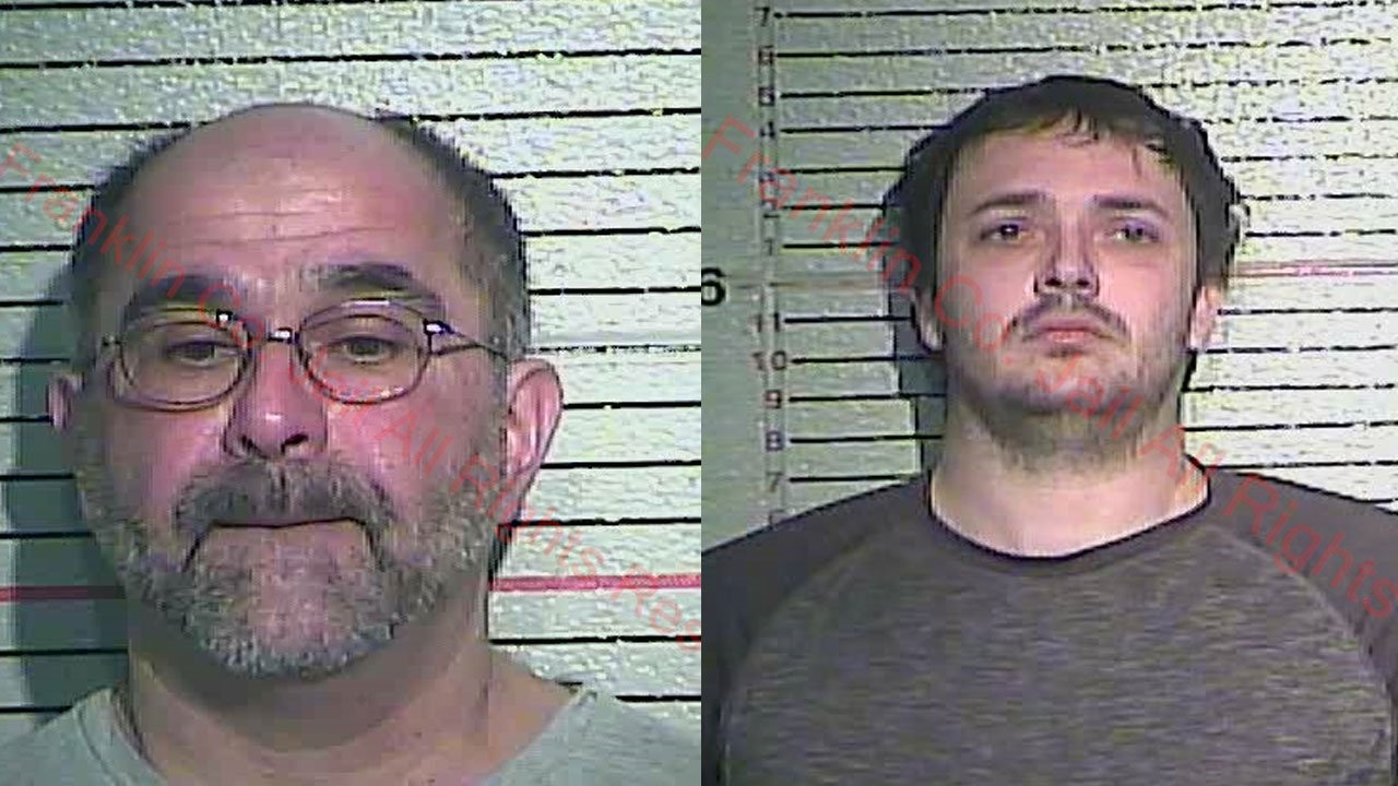 Malek Iranpour and Kristopher Adams (Source: Franklin County Detention Center)