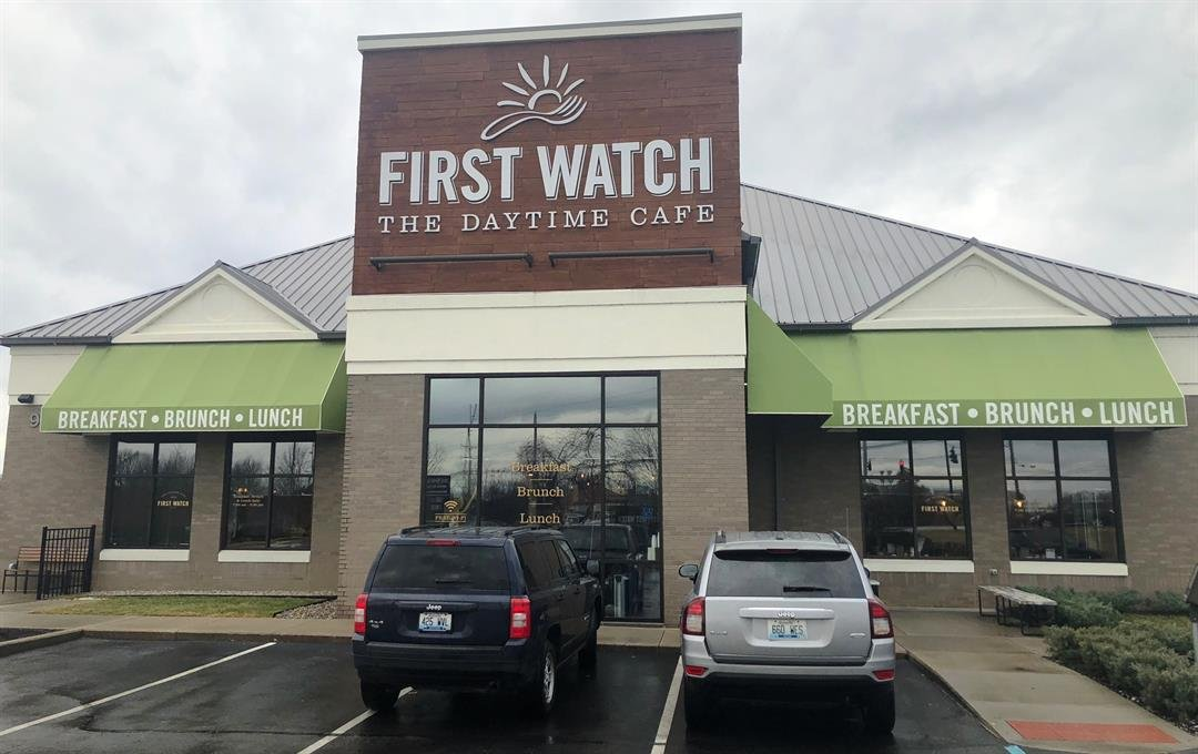 The First Watch cafe in St. Matthews (photos courtesy, Gary Holland)