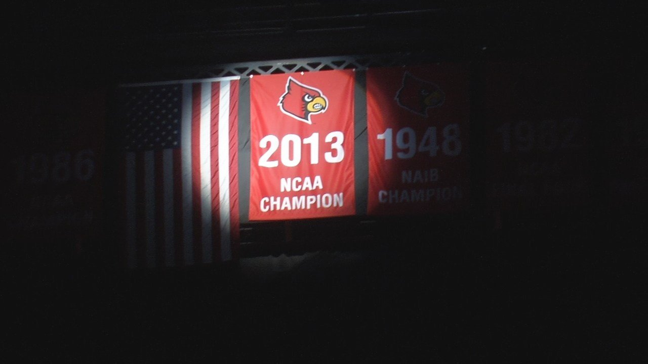 The record of the University of Louisville's 2013 National Championship hangs in the balance, pending an appeal to the NCAA.