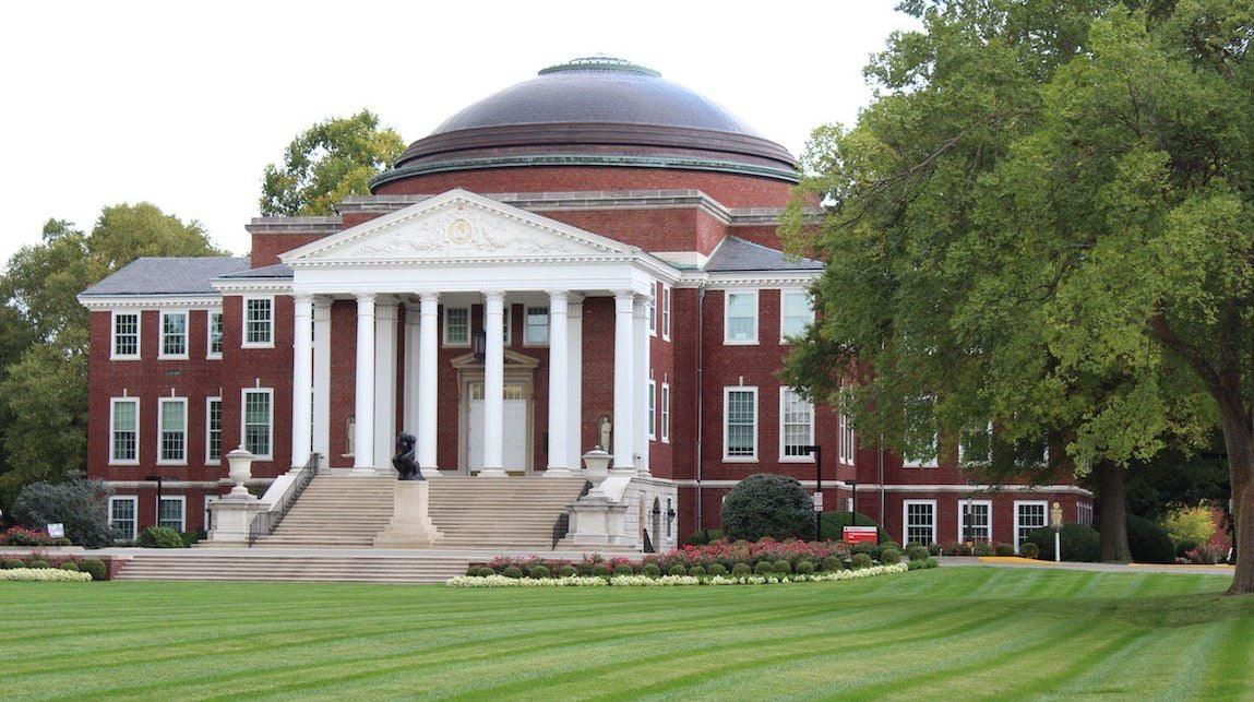 The University of Louisville campus.