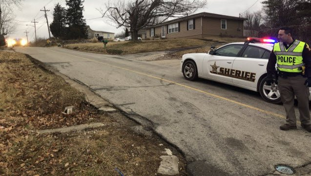 Police were called to an apartment building on Kepley Road in Georgetown, Indiana early on Jan. 24, 2018 after a man was found dead in a driveway.