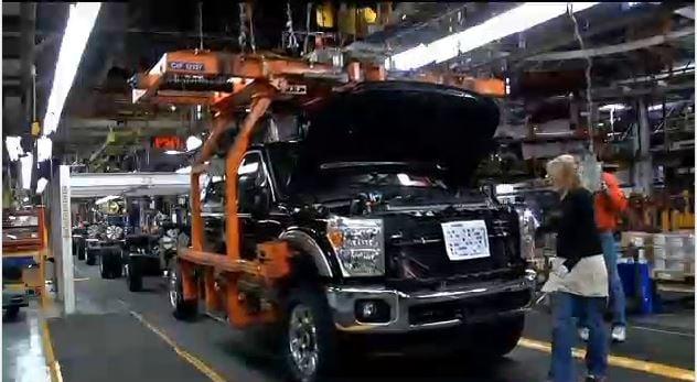 Ford's Kentucky Truck Plant in Louisville, shown in 2015