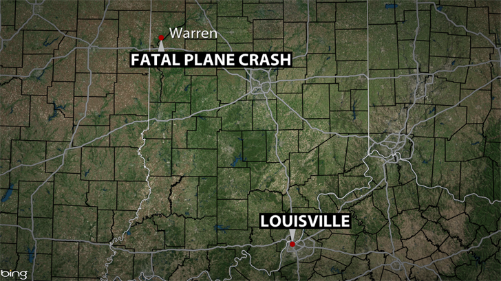 Pilot dies in IN plane crash