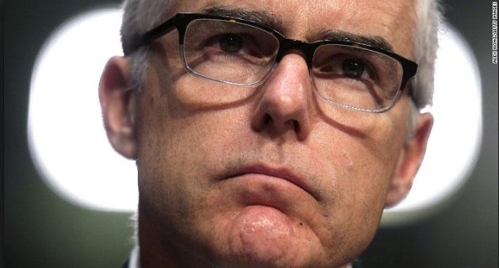 FBI Deputy Director Andrew McCabe (Source: CNN.com)