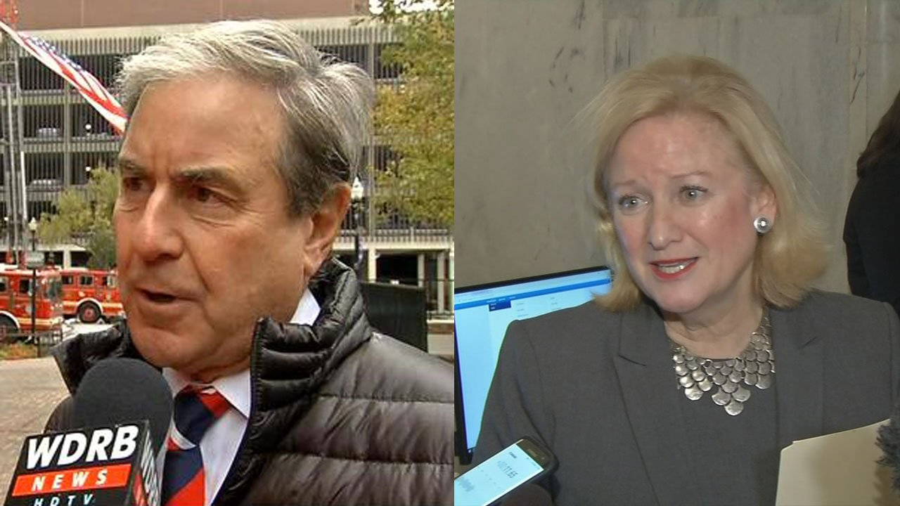 U.S. Rep. for Kentucky John Yarmuth and Vickie Yates Brown Glisson