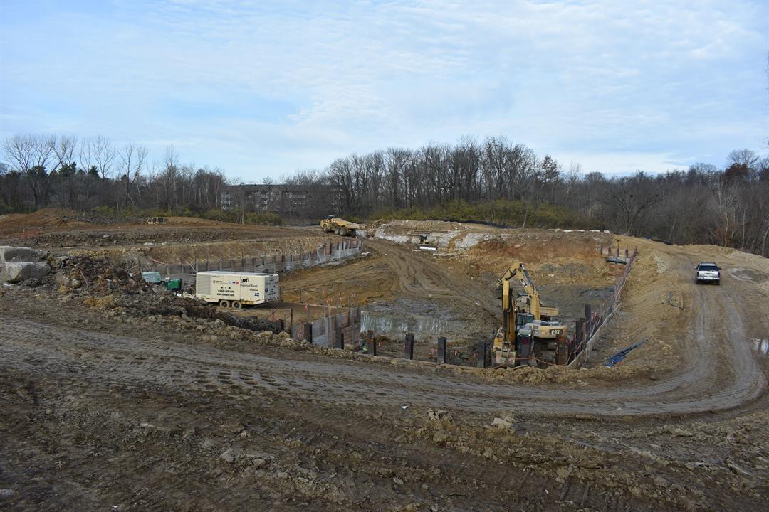Construction a $24 million, 8.5-million-gallon I-64 and Grinstead Basin