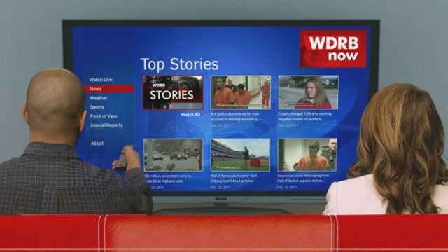 Download the WDRB Now app on Amazon, Apple or Roku.