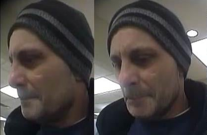 LMPD said this man robbed the Stockyards Bank in the Camp Taylor neighborhood.