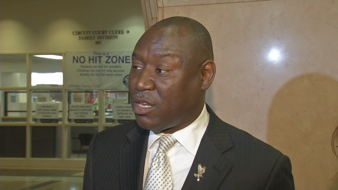 Benjamin Crump, the attorney for the nine women accusing former LMPD officer Pablo Cano of rape.