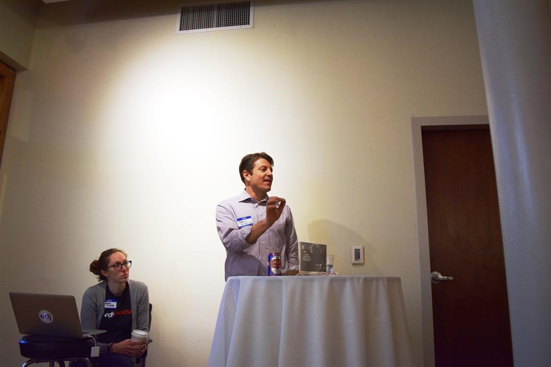 Edj Analytics co-founder Sean O'Leary