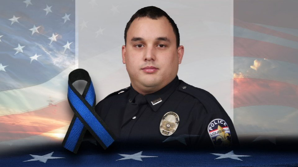 LMPD Officer Nick Rodman was killed in a crash last March during a police pursuit.