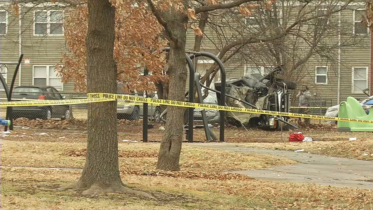 In January, a vehicle crashed into the playground at William Harrison Park, sending three children to the hospital, and damaging some benches and equipment